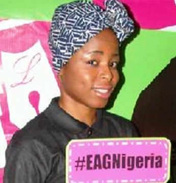 Jennifer Chinonye, #EAGNigeria Winner
