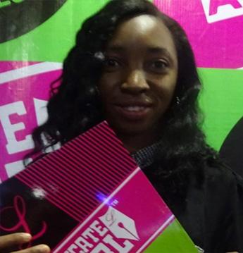 Nina O. Mbah, #EAGNigeria Winner